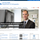 Department of Othopaedics website.