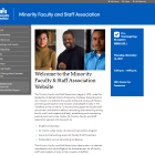 Minority Faculty and Staff Association website.