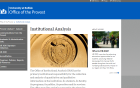 Office of Institutional Analysis Website