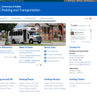 UB Parking and Transportation website.