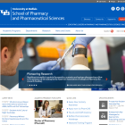 School of Pharmacy and Pharmaceutical Sciences website.