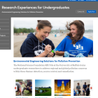 Research Experiences for Undergraduates Website.