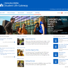 Student Life Gateway website.