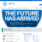 Screen shot of UB|MD Physician's Group site.