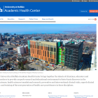Academic Health Center website.