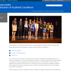Celebration of Academic Excellence website.