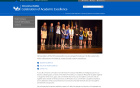 Celebration of Academic Excellence website