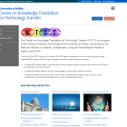 Center on Knowledge Translation for Technology Transfer website.