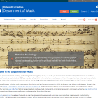 Department of Music website.