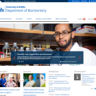 Screenshot of the Biochemistry website.