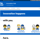 Innovation Hub screenshot.