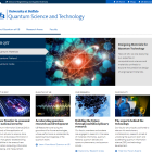 Quantum Science and Technology screenshot.