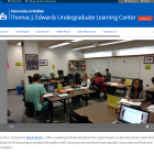 Thomas J. Edwards Undergraduate Learning Center website.