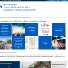 Transportation Informatics University Transportation Center website.