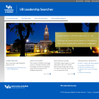 UB Leadership Searches website.