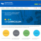 UB Curriculum website.
