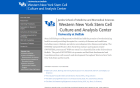 Western New York Stem Cell Culture and Analysis Center website